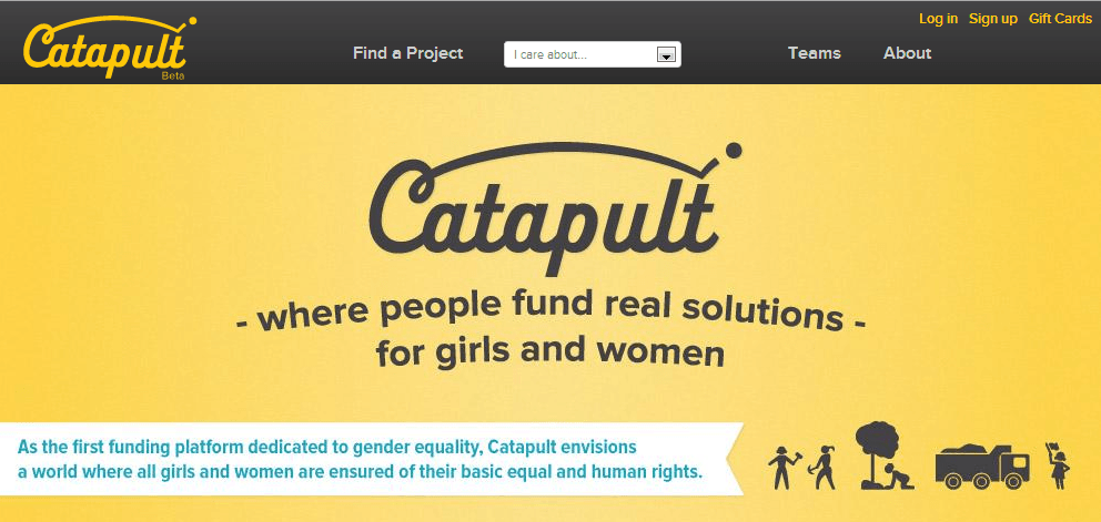 A Crowdfunding Platform To Boost Organizations Serving Women And Girls