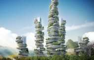 """These """"Farmscrapers"""" Are Entire Cities In Crazy, Wobbly Looking Towers"""