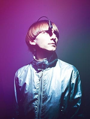 English: Neil Harbisson and his eyeborg implan...