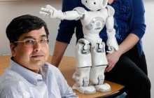Humanoid robot helps train children with autism