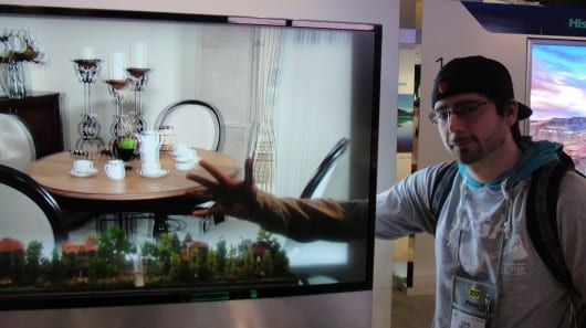 Transparent 3D display revealed at CES