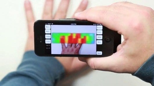 IR-Blue brings thermal imaging to mobile devices