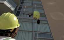 SAM robot climbs highrises to check for damage