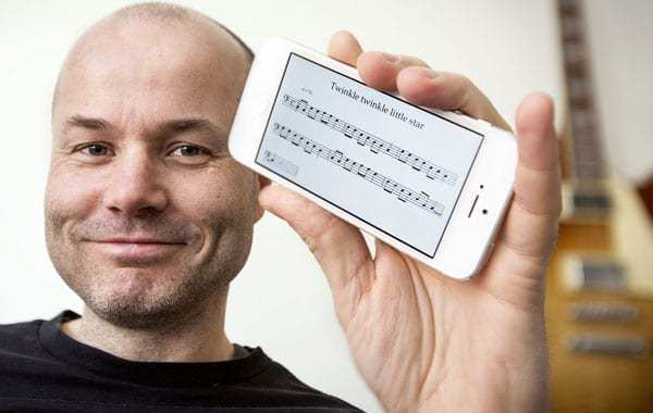 A noteworthy app that writes your music for you