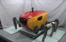 Giant Crabster robot to explore shipwrecks and shallow seas