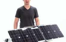 SunSocket Sun-Tracking Solar Generator – go off grid in high tech style