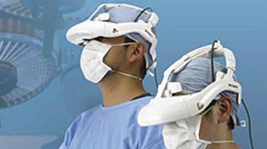 Sony's head-mounted 3D video display gives surgeons an inside view