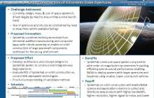 SpiderFab: Process for On-Orbit Construction of Kilometer-Scale Apertures