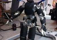 Human Robot Getting Closer