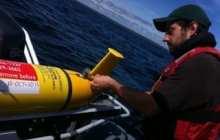 Ocean-Sampling Robot Gliders Tracking Animals, Providing Storm Data