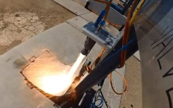 UCSD students test fire 3D-printed metal rocket engine