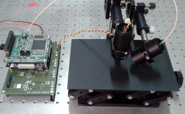 Photograph of the sensor system. / UC3M
