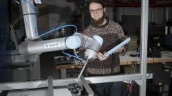 robot stolhjul