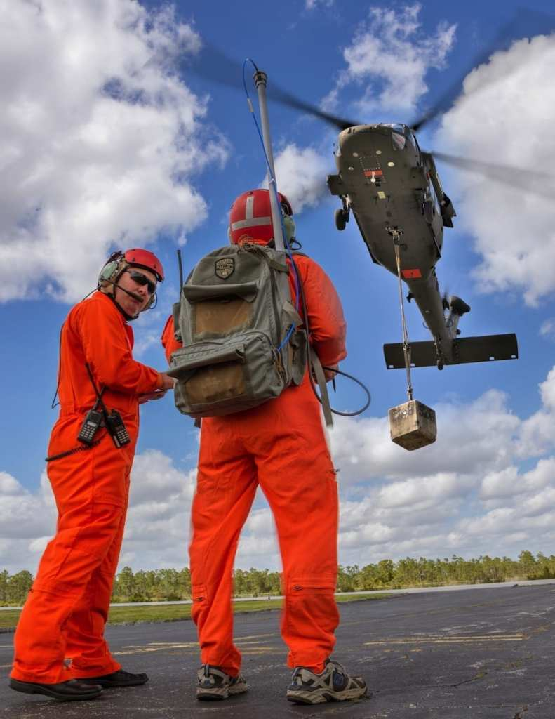 An unmanned Black Hawk helicopter could one day deliver cargo autonomously. Credit: Sikorsky Aircraft Corp.