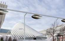 An elevated network of sky cars is to be built in Tel Aviv