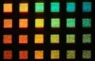 'Squid skin' metamaterials project yields vivid color display