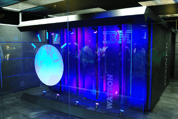 English: IBM's Watson computer, Yorktown Heights, NY (Photo credit: Wikipedia)