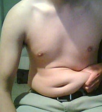 English: Excess adipose tissue around a male's mid-section. (Photo credit: Wikipedia)