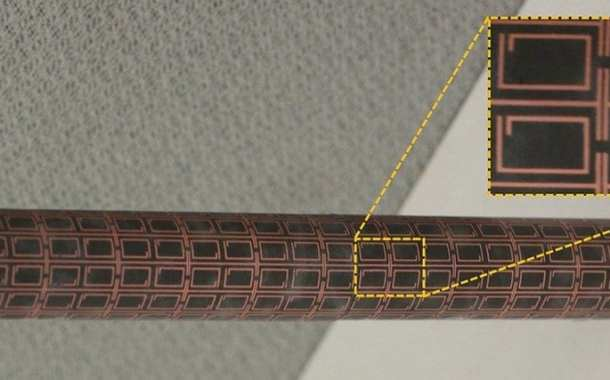Tailored flexible illusion coatings hide objects from detection