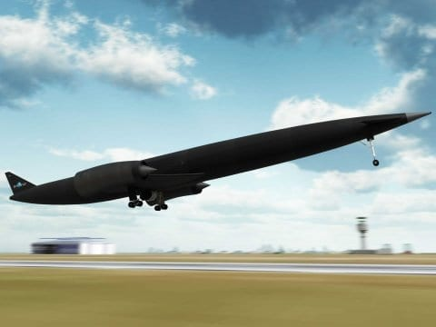 This Plane Will Be Able To Fly Anywhere In The World In 4 Hours