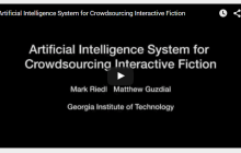 Georgia Tech Uses Artificial Intelligence to Crowdsource Interactive Fiction
