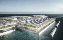 Could triple-decker floating farms address future food issues?
