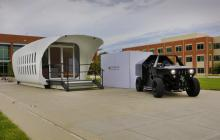 Integrated energy demo connects 3D-printed building and 3D-printed vehicle