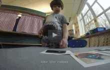 Robot learning companion Tega offers custom-tailored tutoring