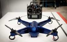 3D printed ready-to-fly drone with embedded electronics using aerospace-grade material