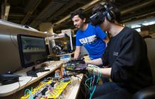 Soft robotics glove enables interaction with virtual reality environments
