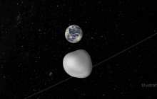 Close encounter with a small asteroid tests a coordinated international asteroid warning network