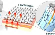 A 3-D printable fiber for clothes that can cool you down
