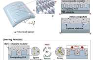 A thin and flexible transparent nanoforce touch sensor for wearable electronics