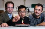 Ultrasound levitation that bends around barriers: A world first