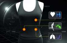 Monitoring lung disease with a smart shirt