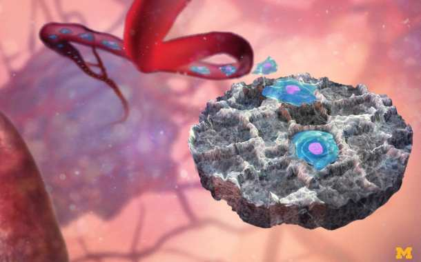 Cancer Traps: A non-invasive way to biopsy tissue from cancer-tainted organs