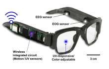 Smart electronic glasses monitor brain waves, body movements and wait . . . there's more