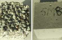 Eco-friendly zero-cement concrete all but eliminates corrosion