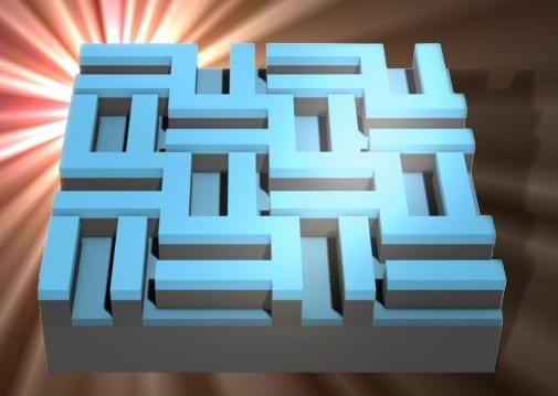 Checkerboard design of solar panel Credit: Dr Davide Zecca
