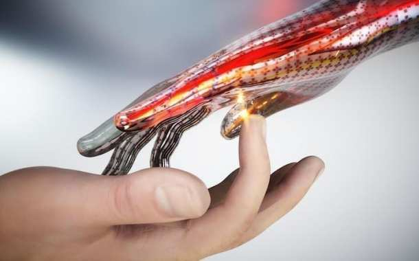 A new type of energy-generating synthetic skin is capable of mimicking the sense of touch