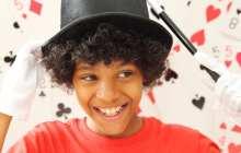 Unlocking children's creative thinking with magic tricks?