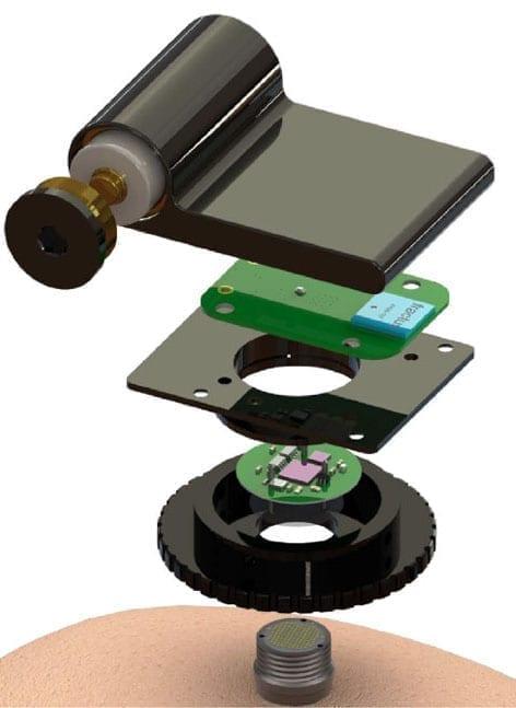 The original wireless device was developed in the lab of Brown's Arto Nurmikko.