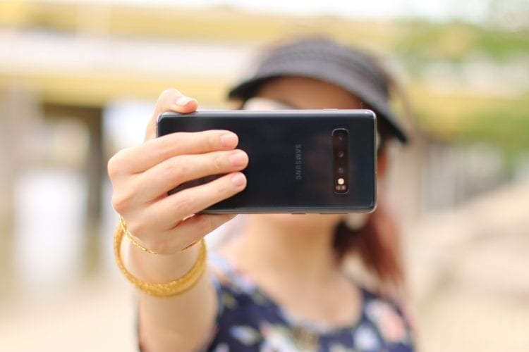 A UW-led team has developed a method that uses the camera on a person's smartphone or computer to take their pulse and breathing rate from a real-time video of their face. Cristina Zaragoza/Unsplash