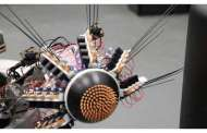 Connecting brain-inspired deep learning to combine vision and touch in biomimetic robots