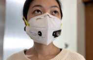 Diagnosing COVID-19 using a face mask with a wearable biosensor