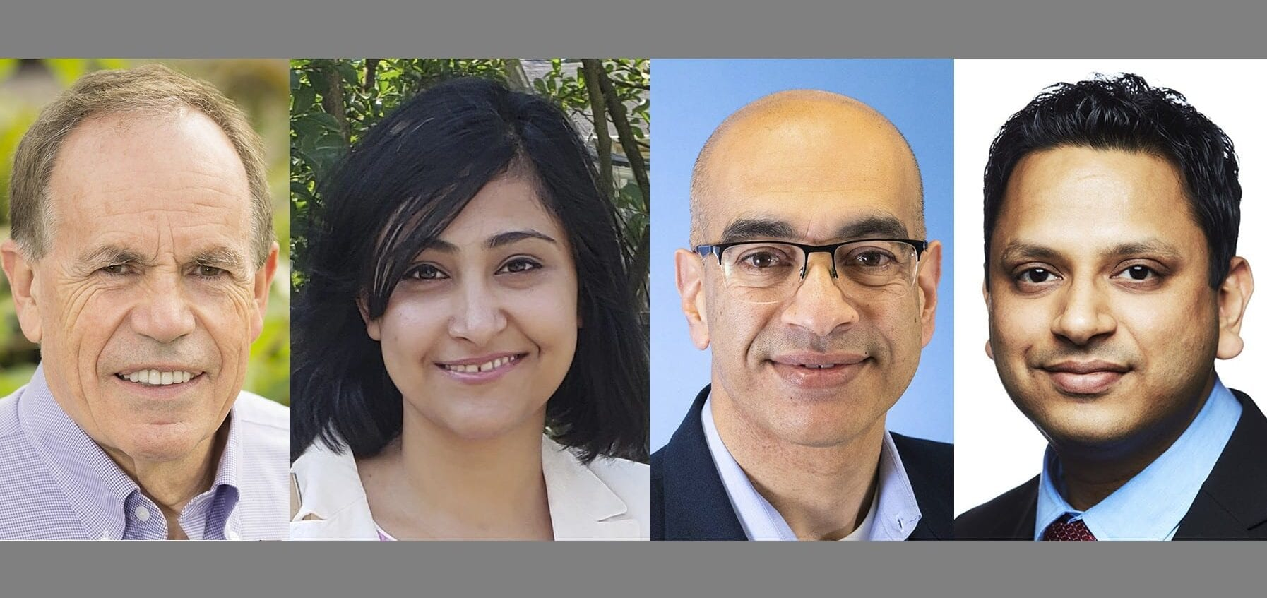 University of Illinois researchers (L to R) Steve Long, Shraddha Maitra, Vijay Singh, and Deepak Kumar conducted a series of studies on biofuel production from energycane.