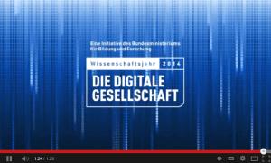 Wissenschaftsjahr 2014 - Die digitale Gesellschaft