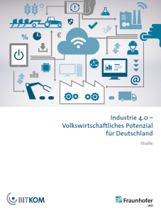 Studie Industrie 4.0 von BITKOM und Fraunhofer IAO