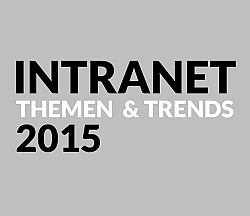 Trendstudie INTRANET Themen & Trends 2015