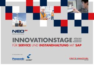 Innovationstage Service und Instandhaltung